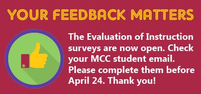 Evaluation of Instruction Survey