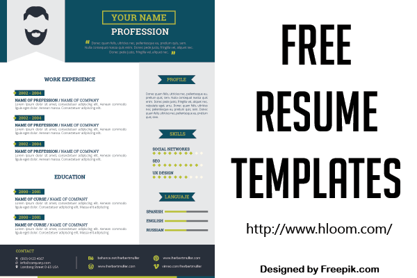 Get awesome, free resume templates.
